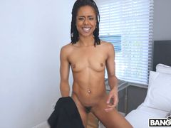 Anal With Her Present For A Creampie