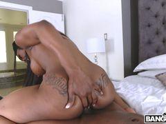 Naughty Girlfriend Deepthroat And Fucks A Huge Cock