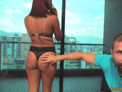 Banging a Colombian 18 Year Old Nurse