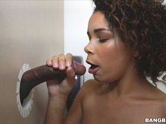 Raven wants to try out the glory hole