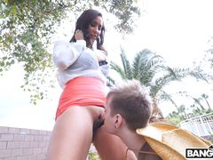 Horny MILF Dominating The Gardener