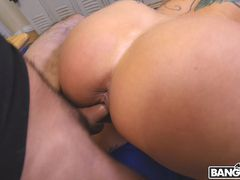 Dominant MILF Gets A Creampie After Anal Sex