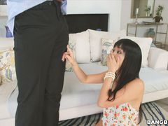Shy Japanese Girl Gets Monster Anal