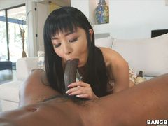 Shy Japanese Girl Gets Monster Anal