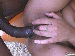 Jaslin Diaz Gets Her First Taste Of A Monster Cock