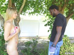 Jillian Janson Fucks a Huge Dicked Gardener