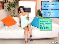 Maya Bijou house sits