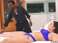 Kinky Karlee Grey Gets Saved By A Monstrous Cock