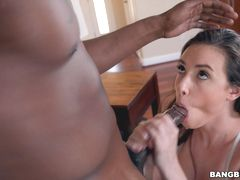 Casey gets Creampied After Big Dick Fucks Her Ass