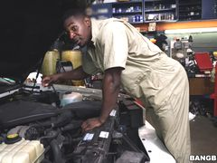 Mechanic Has The Biggest I've Ever Seen