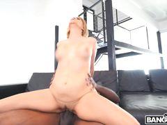 Blonde Cutie Takes on Mandingo