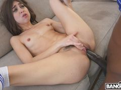 Riley Reed Squirts on a Monster Cock