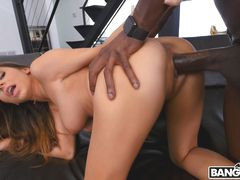 Nina's Insatiable Craving For Monster Cock
