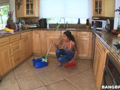 Stacy Jay cleans every last drop