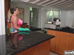 Busty Maid Gets Railed